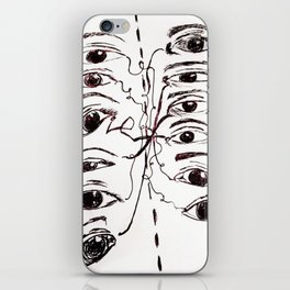 Cross Fire (Courageous Conversations) iPhone Skin