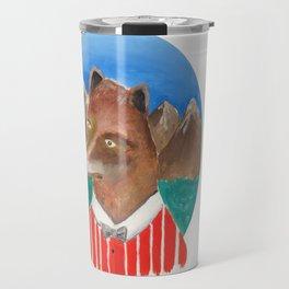 Fox of Lion Travel Mug