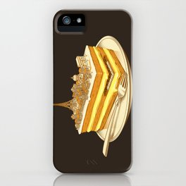 Hungry for Travels: Slice of Paris iPhone Case