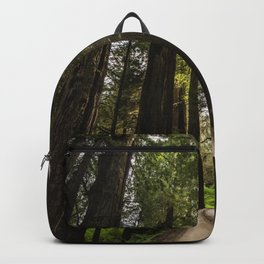 Redwoods Make Me Smile - Nature Photography Backpack