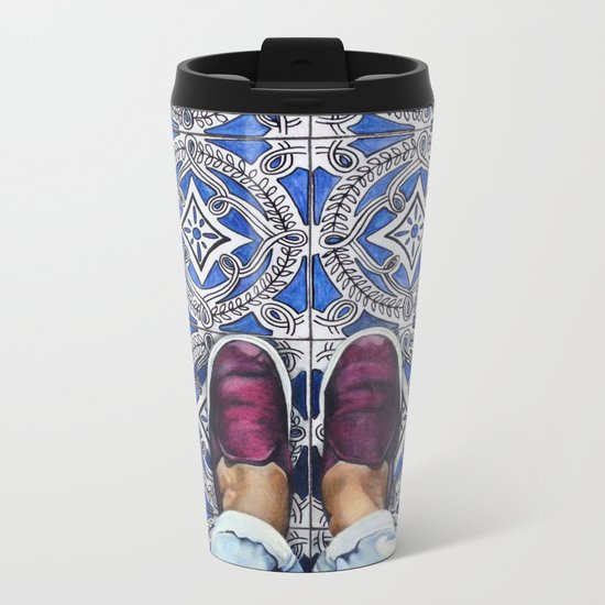 Art Beneath Our Feet - Ancona, Italy Metal Travel Mug