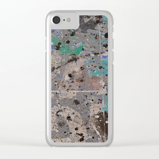 #46 Clear iPhone Case