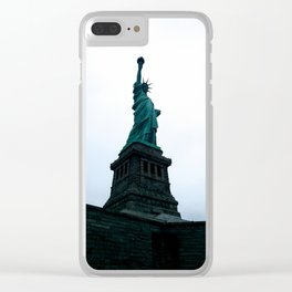 Lady dreary Clear iPhone Case