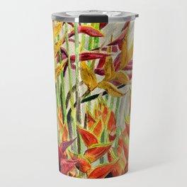 Heliconia Bouquet Travel Mug