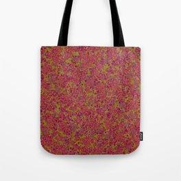 Tiny Circles - Red & Green Tote Bag