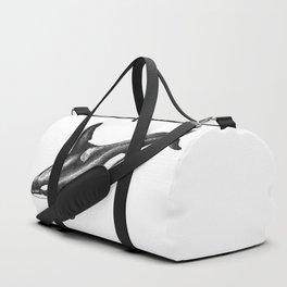 Orca killer whale ink art Duffle Bag