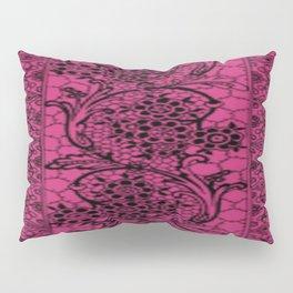 Vintage Lace Pink Yarrow Pillow Sham