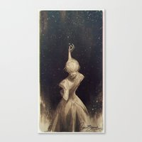 Canvas Prints featuring The Old Astronomer  by charliebowater