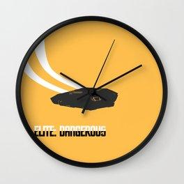 Elite: Dangerous inspired - The Cobra  Wall Clock