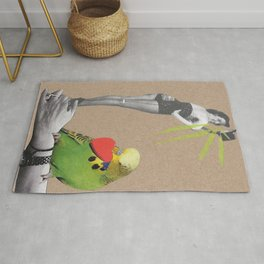 Impossible love Rug