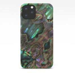 Oil Slick Abalone Mother Of Pearl iPhone Case