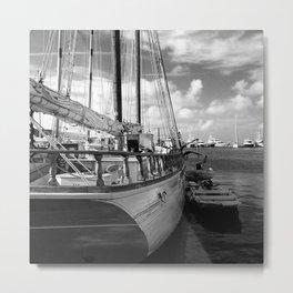 Awaiting Sail  Metal Print