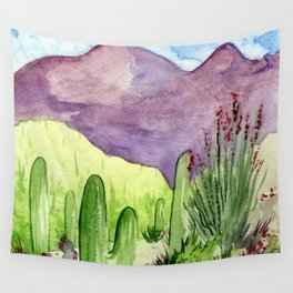Sonoran Springtime Wall Tapestry