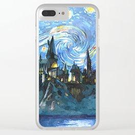 Night Castle Clear iPhone Case