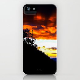 Imp Sunset iPhone Case