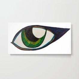 Eye of Indifference Metal Print