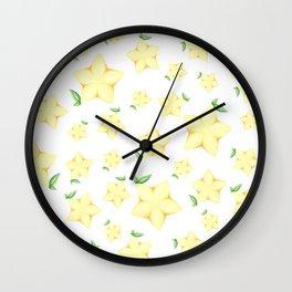 Paopu Fruit Wall Clock