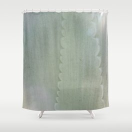 Agave Aglow Shower Curtain