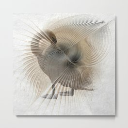 elegance and concentration Metal Print