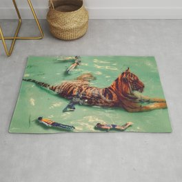 Snorkeling with Kitty Rug