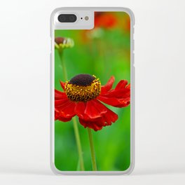 Summer flowers 0219 Clear iPhone Case