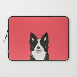 Montana - Border Collie gifts for dog people and dog lovers perfect gifts for a dog person.  Laptop Sleeve