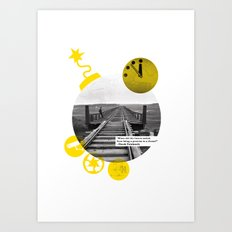 You Can Quote Me - Chuck Palahnuik Art Print