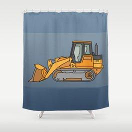 Bulldozer Shower Curtain