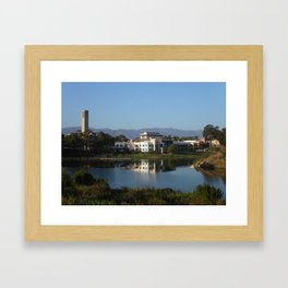 University of California, Santa Barbara (UCSB) Framed Art Print
