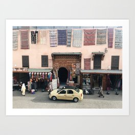 Moroccan Street Art Print