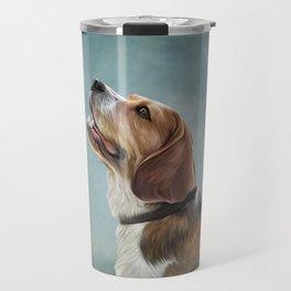 Drawing Dog Beagle 10 Travel Mug