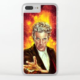 The Last of the Time Lords Clear iPhone Case