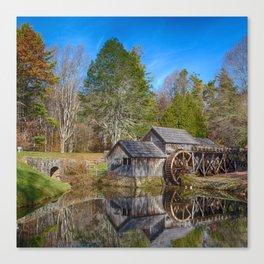 Mabry Mill - Square Canvas Print