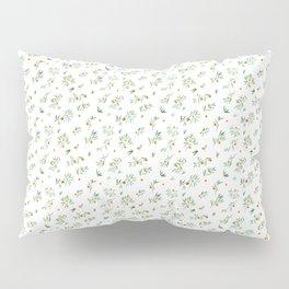 orange - subtle pattern Pillow Sham