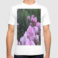 Roses MEDIUM Mens Fitted Tee White