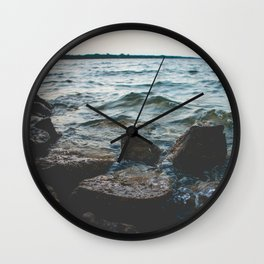 Hell or High Water Wall Clock