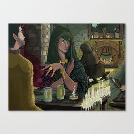 Witches Tavern Canvas Print