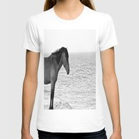 pony T-shirts featuring Assateague Pony by Biff Rendar
