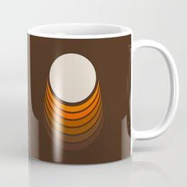 Golden Crescent Coffee Mug