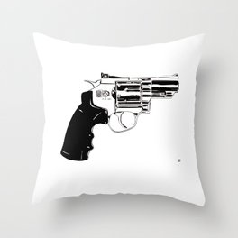 Gun #27 Throw Pillow