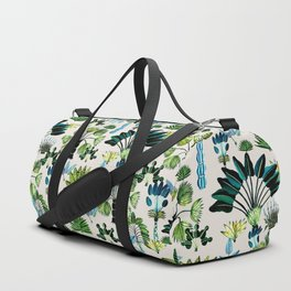 Exotic Garden Green Duffle Bag