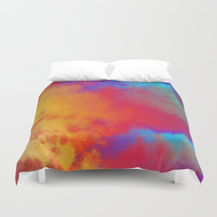 Dye to Live #society6 #decor #buyart Duvet Cover