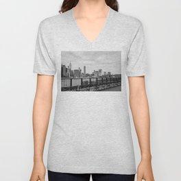 Manhattan Unisex V-Neck