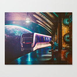 The Station Canvas Print