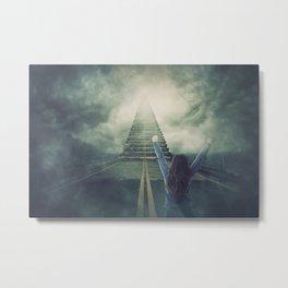 stairway to the sky Metal Print