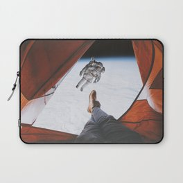 Camping in space Laptop Sleeve