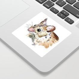 Little Brown Mouse Sticker