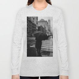 Rainy New York IX Long Sleeve T-shirt