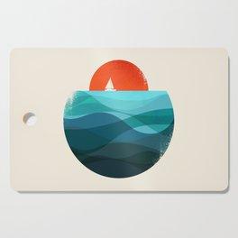 Deep blue ocean Cutting Board
