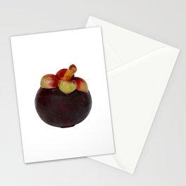 Mangosteen Thai fruit Stationery Cards